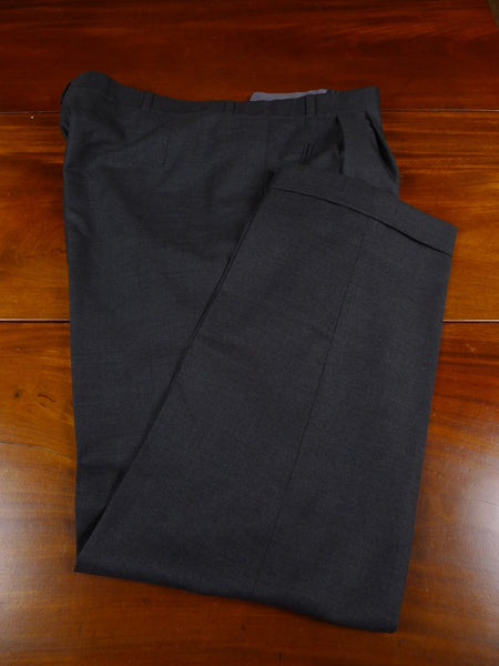 18/1043 NEAR IMMACULATE anderson & sheppard savile row bespoke grey wool trouser 42