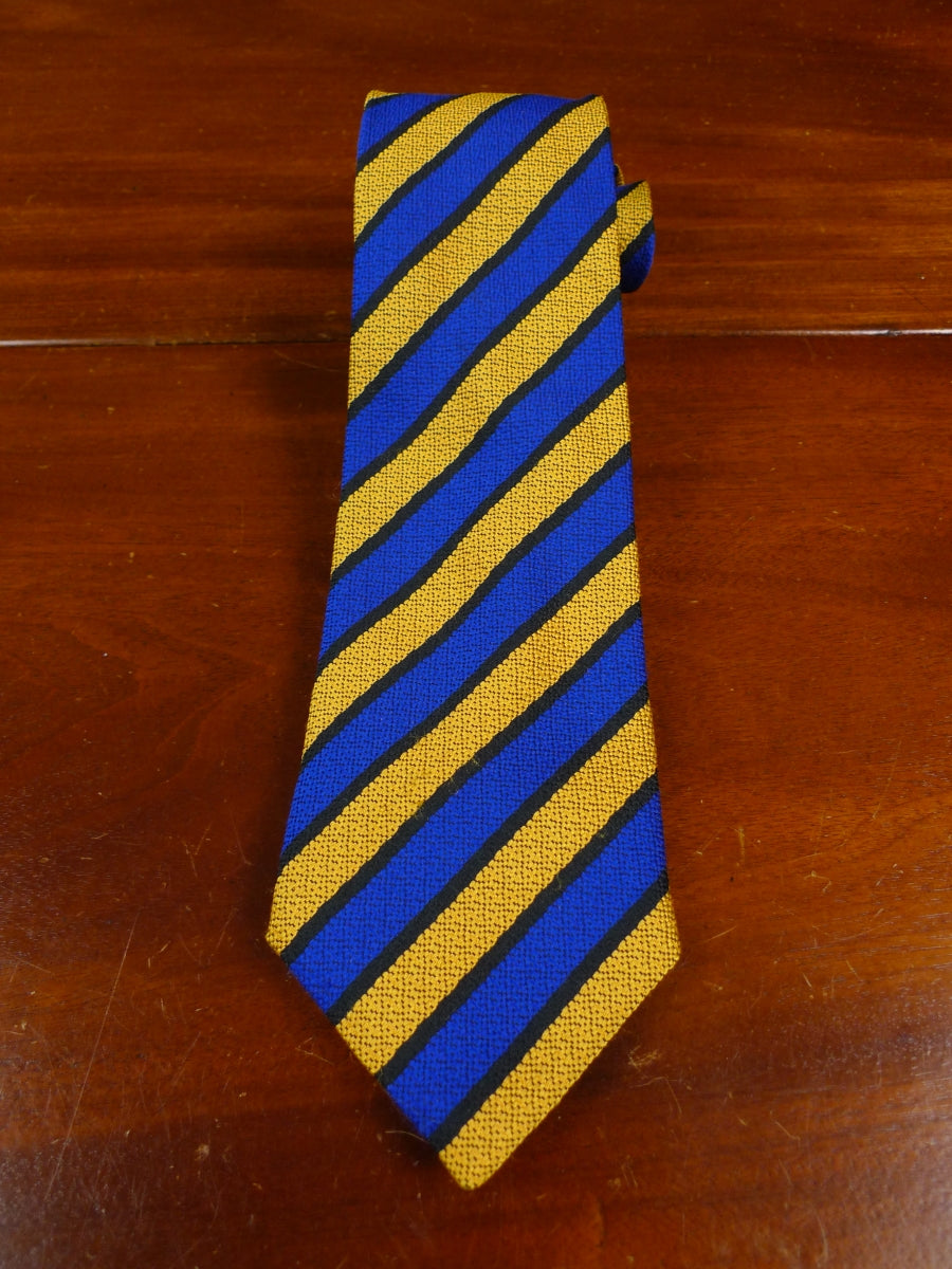 18/1083 immaculate dege savile row blue gold repp tie