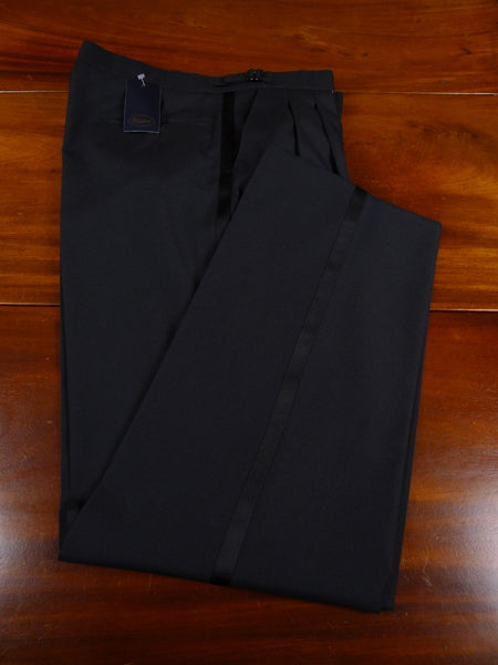 18/1254 new w/tags magee black wool mix evening trouser 36