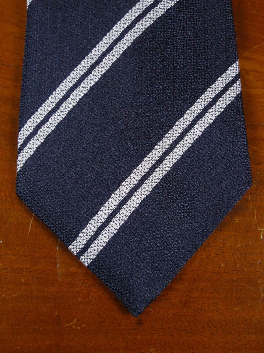 18/1310 brand new benson & clegg burlington arcade 'old harrow'silk non crease tie rrp £65 (373nc)