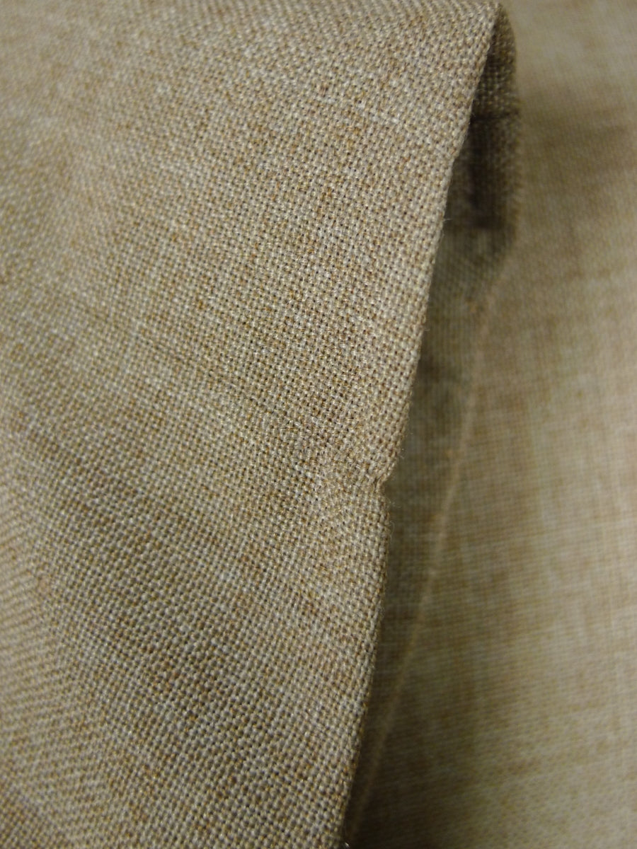 18/1293 vintage wool mix beige summer / travel jacket 39 short