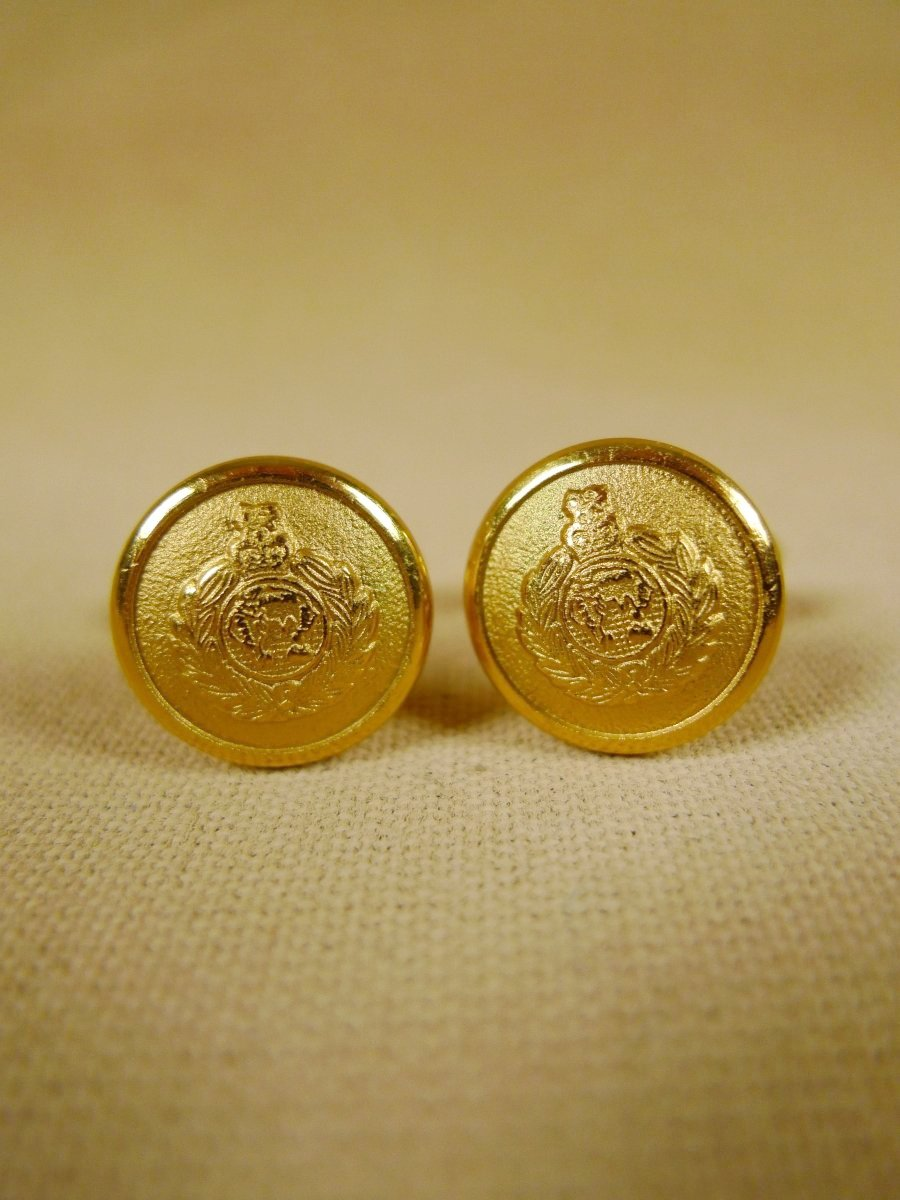 18/1323 brand new benson and clegg 'royal marines' t-bar cufflinks rrp £40 (t911)