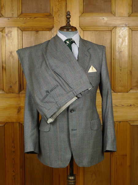 18/1378 vintage gieves & hawkes savile row reid & taylor wool twist town & country suit 41 regular