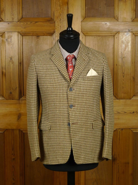 18/1379 wonderful 1950s boys tweed sports jacket blazer 34 short