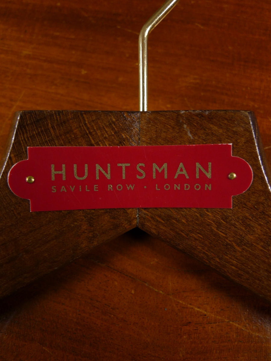 18/1668 excellent huntsman savile row wooden suit hanger
