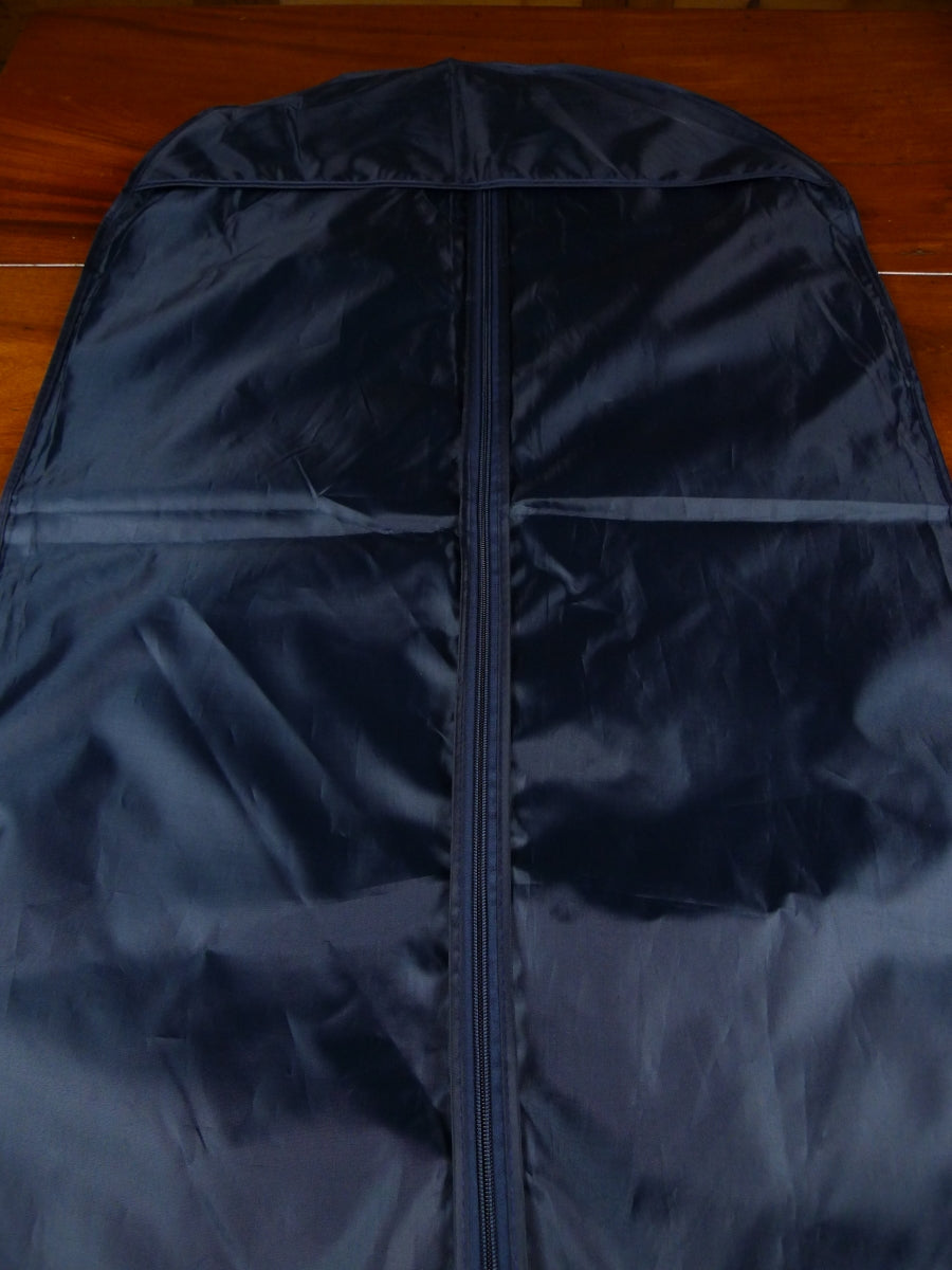 18/1789 immaculate gieves & hawkes savile row blue woven plastic suit bag carrier