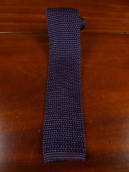 18/1896 immaculate gallo maroon blue woven 100% silk tie