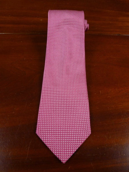 18/1892 immaculate henry poole savile row pink all silk tie