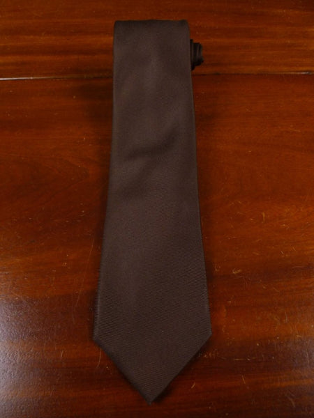 18/1893 immaculate drake's brown 100% silk tie