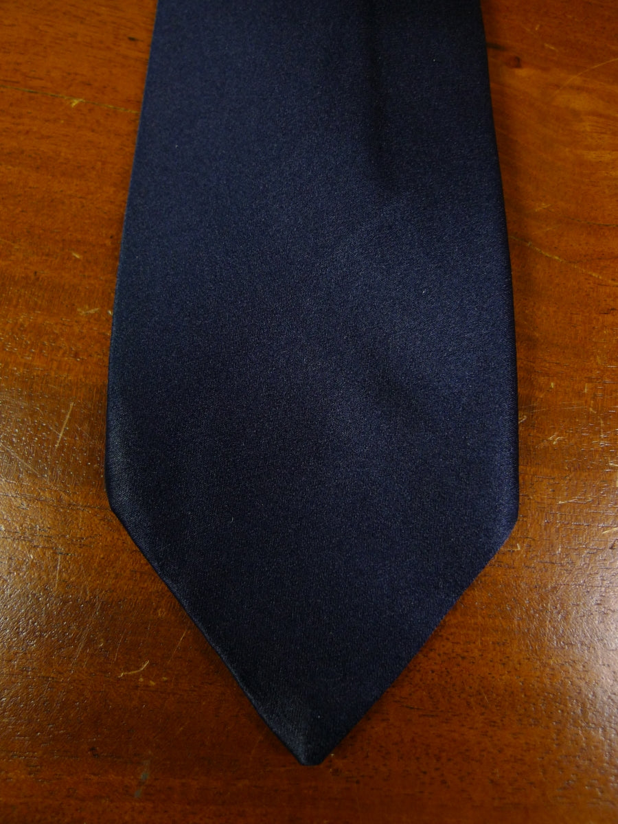 19/0305 harrods navy all silk tie