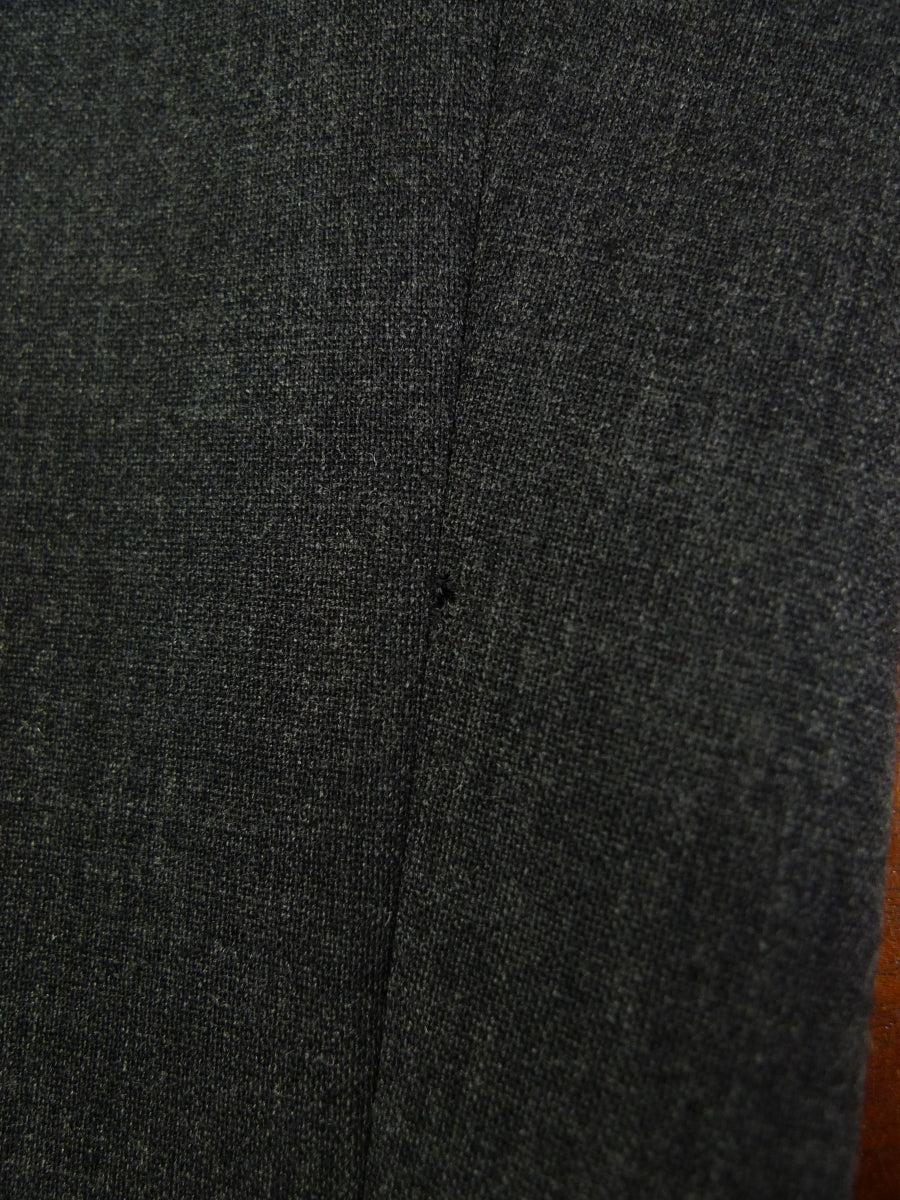 19/0636 near immaculate welsh & jefferies 2009 savile row bespoke grey wool trouser 41