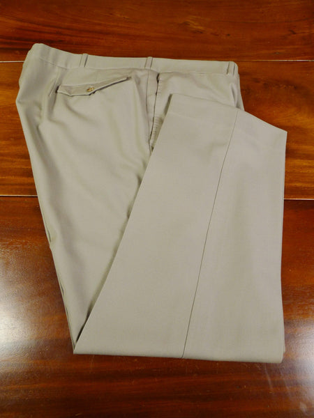 19/0675 welsh & jefferies 2010 savile row bespoke beige cavalry twill trouser 44