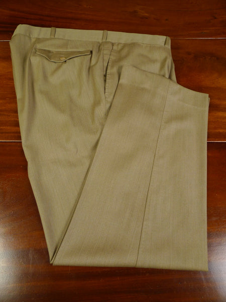 19/1100 welsh & jefferies 2010 savile row bespoke stone venetian twill trouser 45