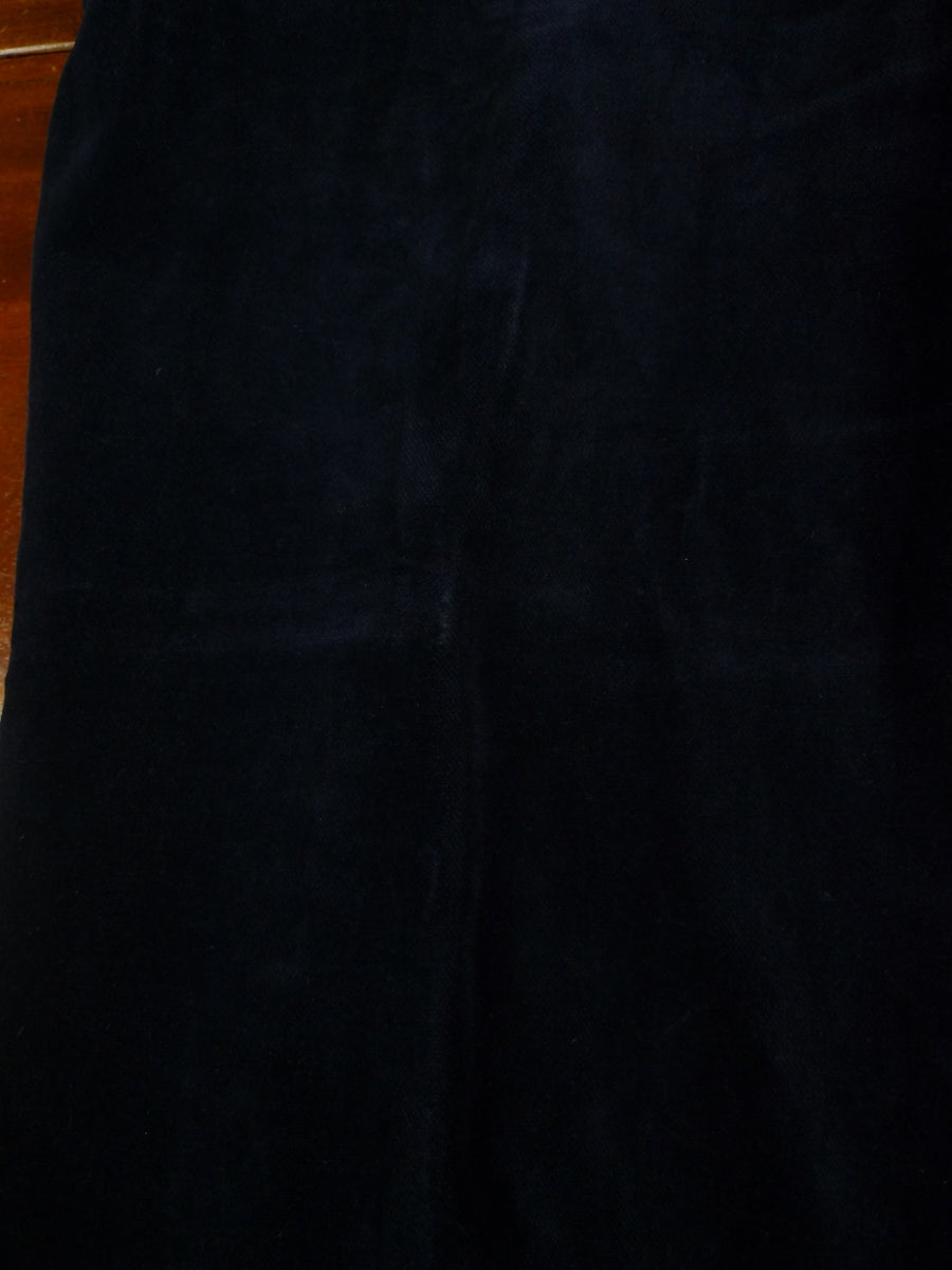 19/0740 dandy vintage blue velvet trouser 34