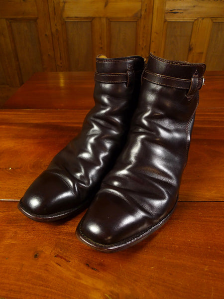 19/0856 rm williams brown jodhpur boot (need resoling) 9.5