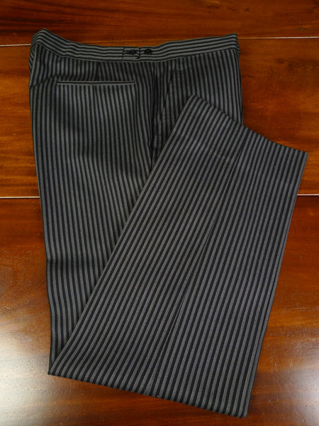 19/0922 immaculate sam's bespoke tailor 'cashmere stripe' worsted morning trouser 38