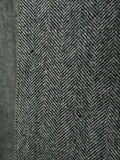 19/0920 vintage gieves & hawkes savile row grey herringbone wool overcoat 42 regular