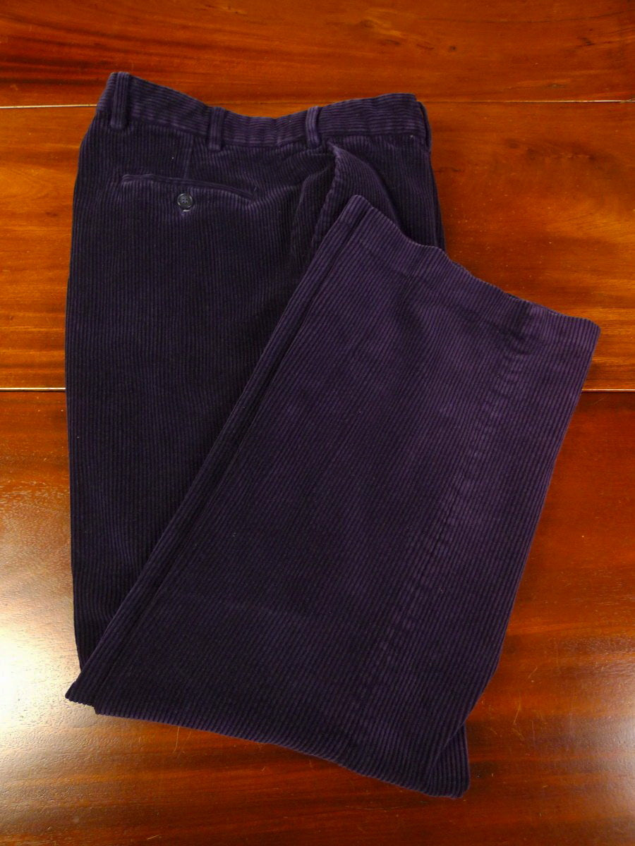 19/1211 HOUSE OF BRUAR purple corduroy country trouser 35