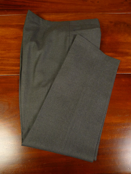 19/1275 immaculate vintage savile row bespoke grey worsted trouser 40