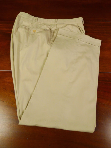19/1281 vintage burberry's lightweight beige cotton trouser 38
