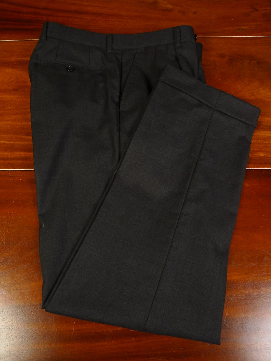 19/1339 near immaculate quality grey wool trouser w/ turn-up 32