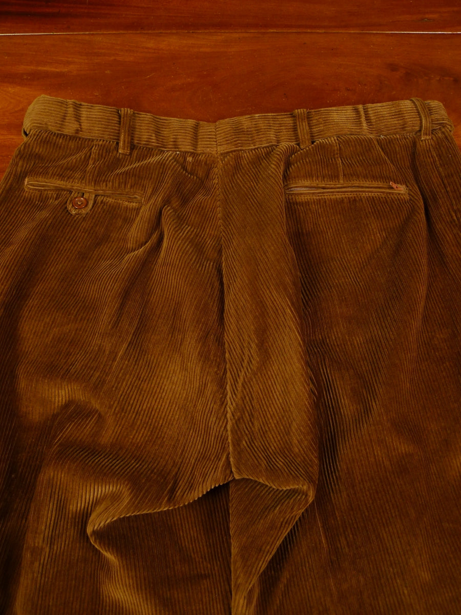 19/1335 peter christian brown corduroy trouser 39