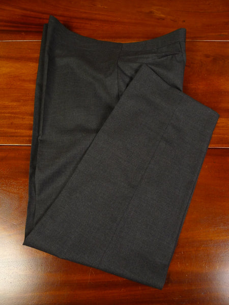 19/1337 immaculate vintage bespoke tailored grey wool trouser 44