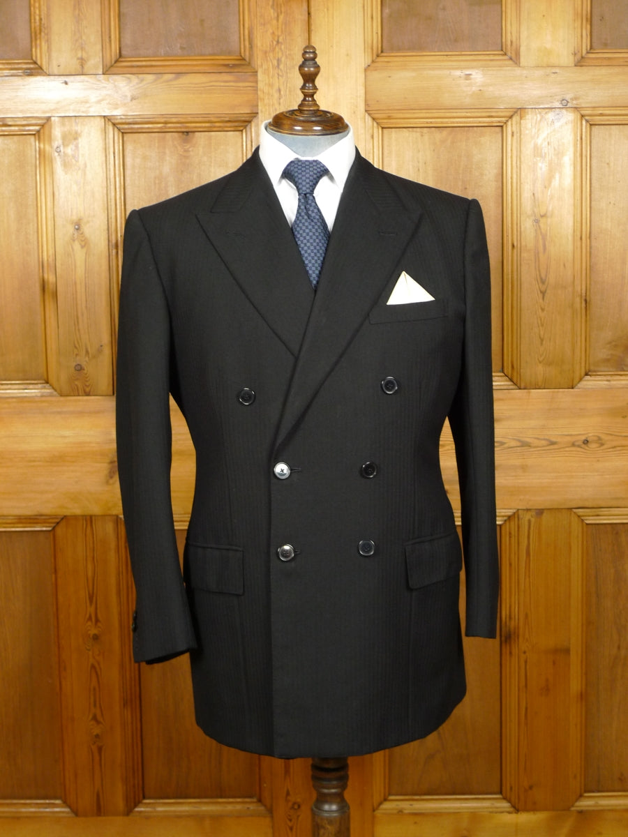 19/1411 wonderful 1997 welsh & jefferies savile row bespoke 3-piece morning suit 44 regular