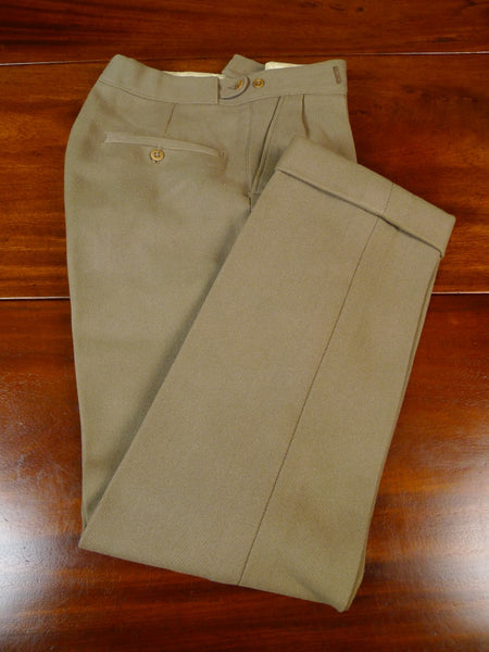 19/1646 vintage 1950s heavyweight tan beige cavalry twill country trouser 28