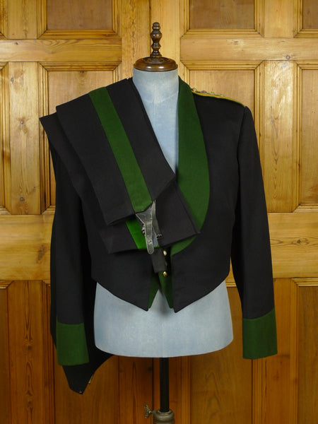 20/0047 vintage 1964 gieves savile row bespoke regimental dress uniform w/ 2 pair trs (4 pieces in total) 41 regular