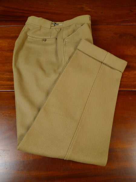 19/1681 vintage 1950s 1960s heavyweight bedford twill country trouser 27