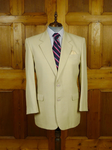 19/1823 immaculate bermuda tailors luxury wool sports jacket blazer 42-43 long
