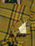 20/0113 near immaculate 2002 savile row bespoke bold check tweed jacket 45 short
