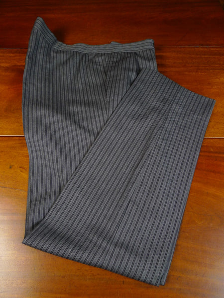 20/0118 near immaculate 1995 anderson & sheppard savile row bespoke 'cashmere stripe' wool morning trouser 42