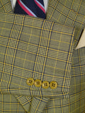20/0201 immaculate vintage valentino plaid check wool sports jacket blazer 43 short to regular