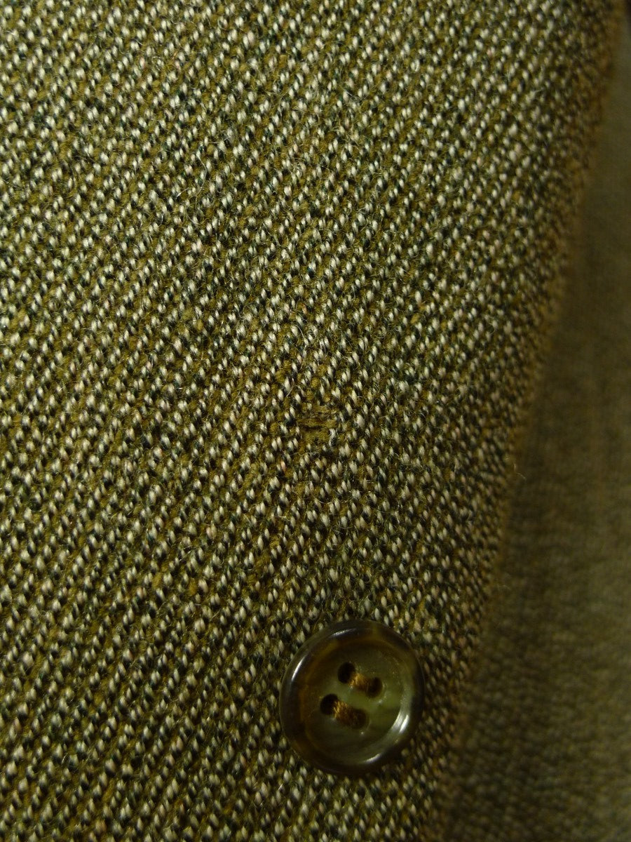 20/0348 near immaculate green keepers tweed country jacket 37-38 short