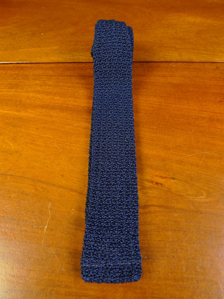 20/0377 immaculate vintage blue woven terylene tie