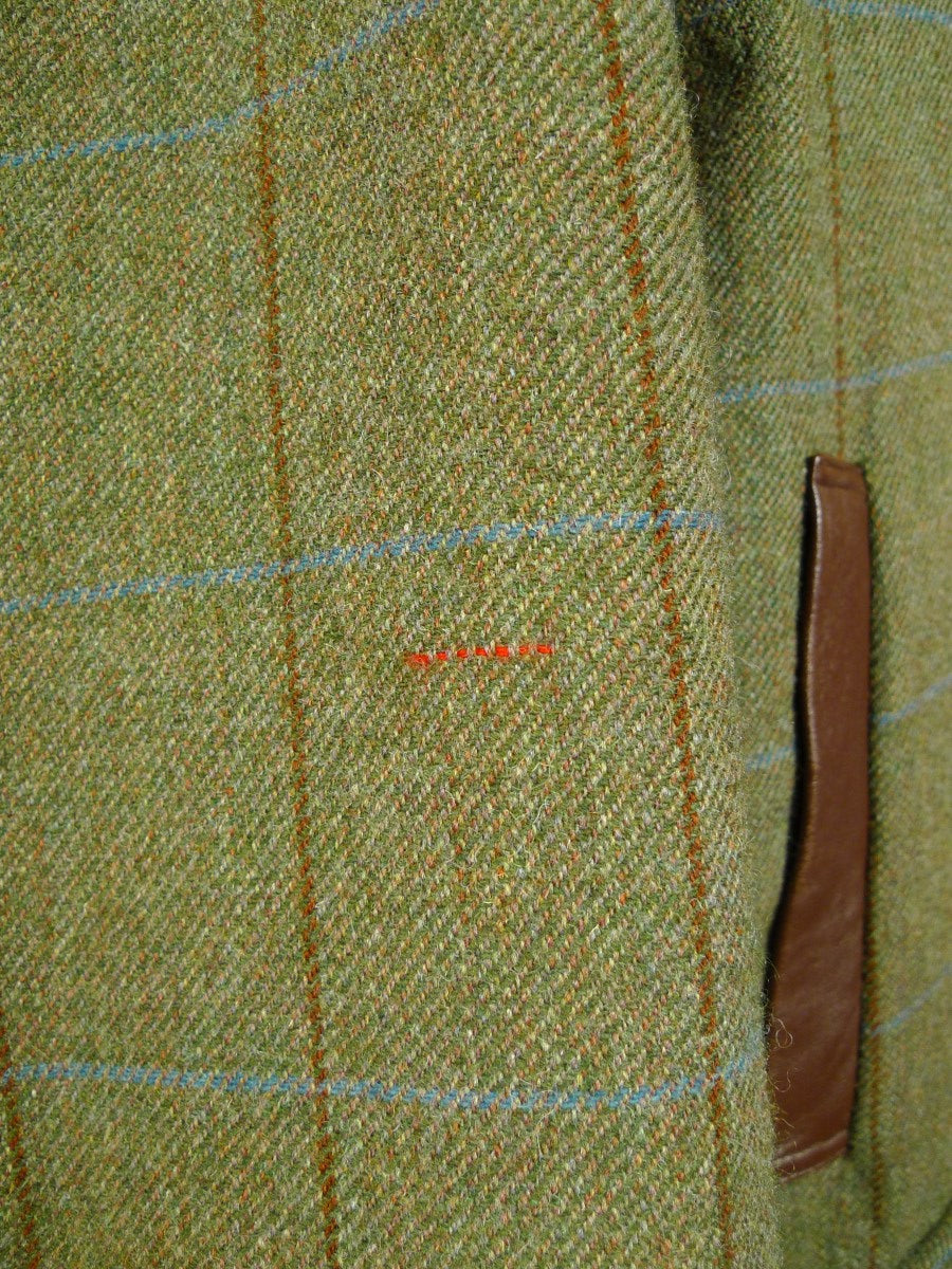 20/0513 immaculate 1992 norton & sons savile row bespoke field sports tweed shooting coat (rrp £3500) 46