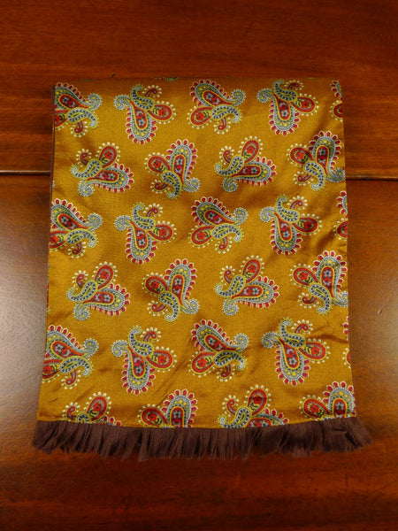 20/0954 immaculate vintage sammy bronze red tricel / wool scarf