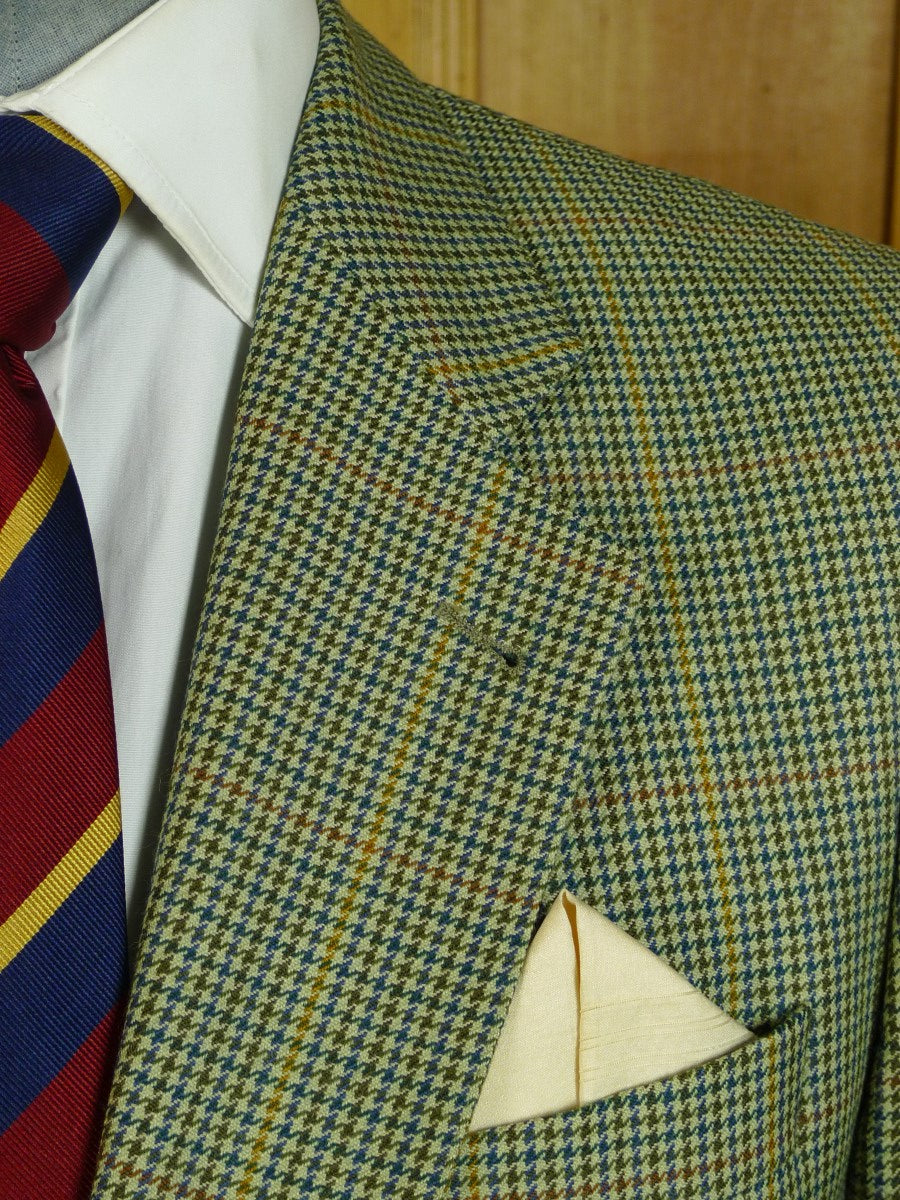 20/0657 near immaculate vintage burberrys pure new wool sports jacket blazer 42 short