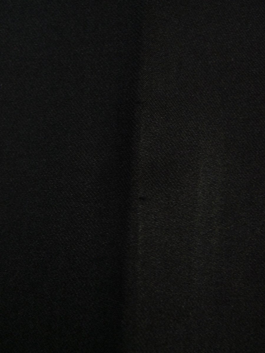 20/0784 vintage tailored black superfine wool evening trouser 42