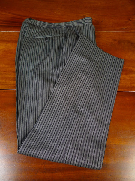 20/0826 vintage 1985 johns & pegg savile row bespoke high-rise morning trouser 32-34