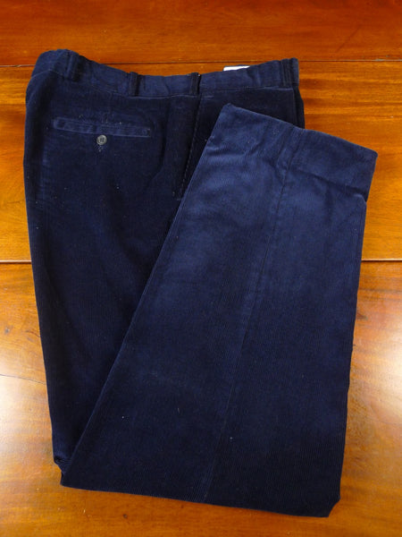 20/0890 pakeman catto carter navy blue corduroy country trouser 36