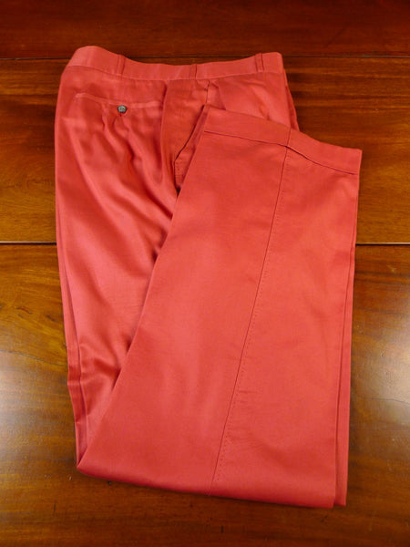 20/0893 immaculate vintage johns & pegg savile row bespoke high-rise manadrin lightweight cotton trouser 31