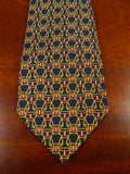 20/1117 immaculate simpson blue gold SILK TIE