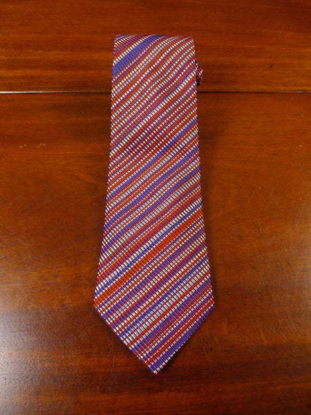 21/0073 immaculate richard james savile row purple & red SILK TIE