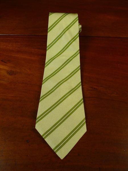 21/0068 immaculate gieves & hawkes savile row green SILK TIE