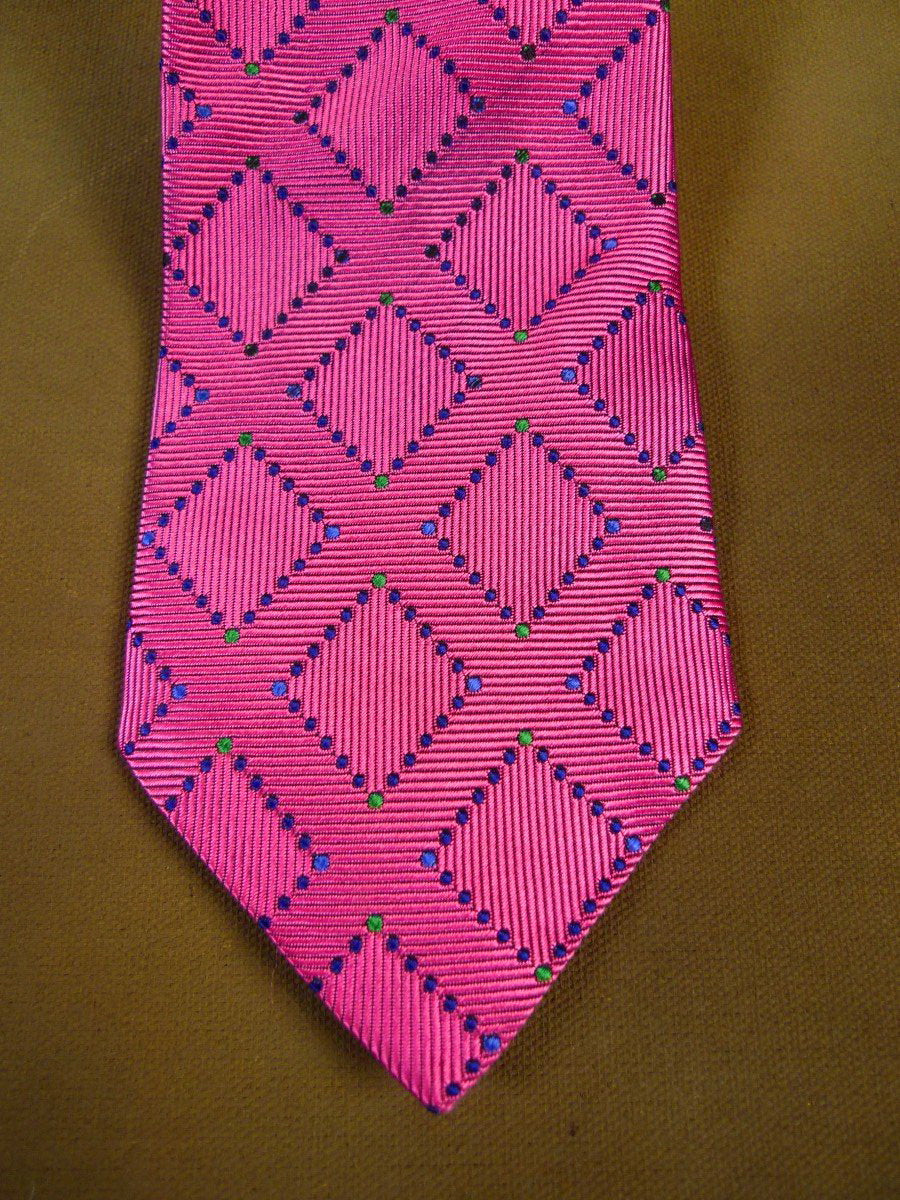 20/1173 immaculate turnbull & asser crimson SILK TIE