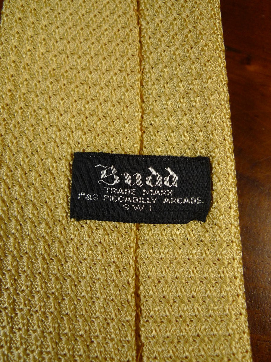 20/1230 immaculate budd gold SILK TIE