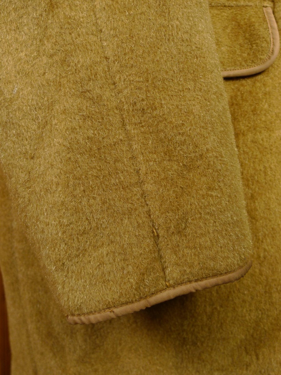 21/0044 Near immaculate vintage gannex british wool mohair & mink luxury car coat 40-42